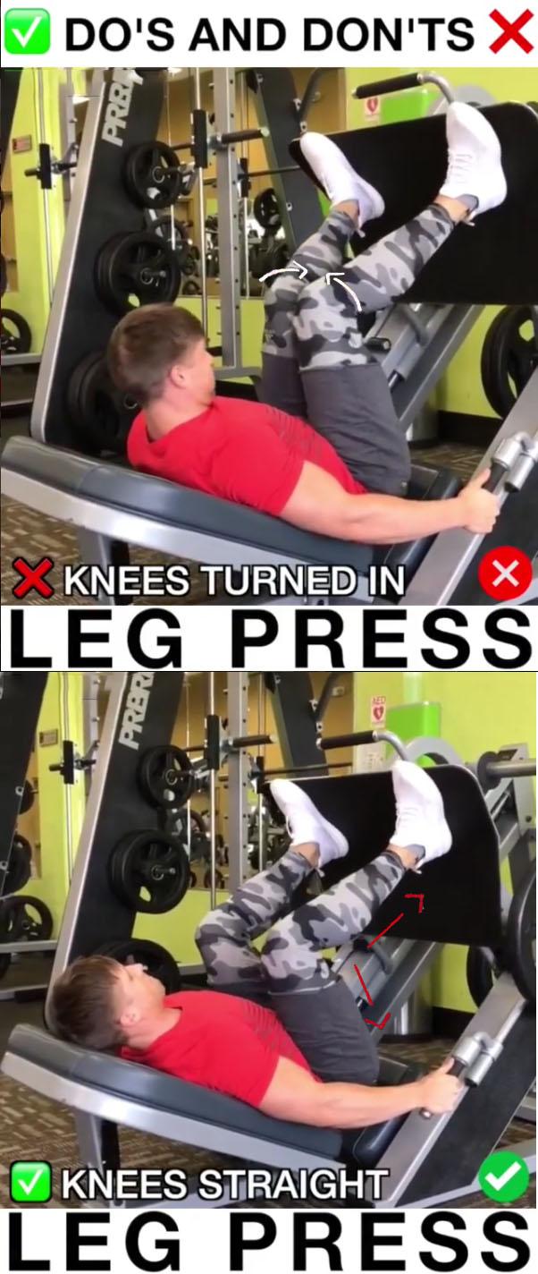 Leg Press Proper Form