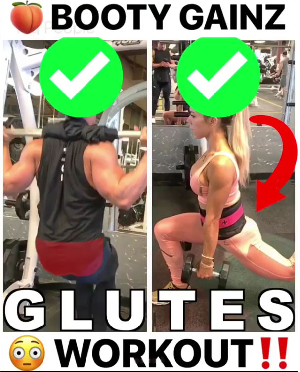 FULL GLUTES EXERCISE