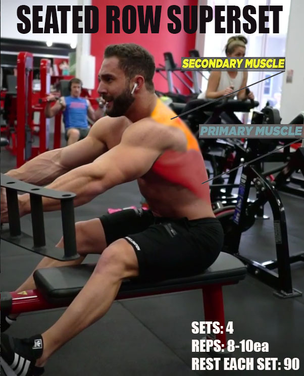 🔥SEATED ROW SUPERSET