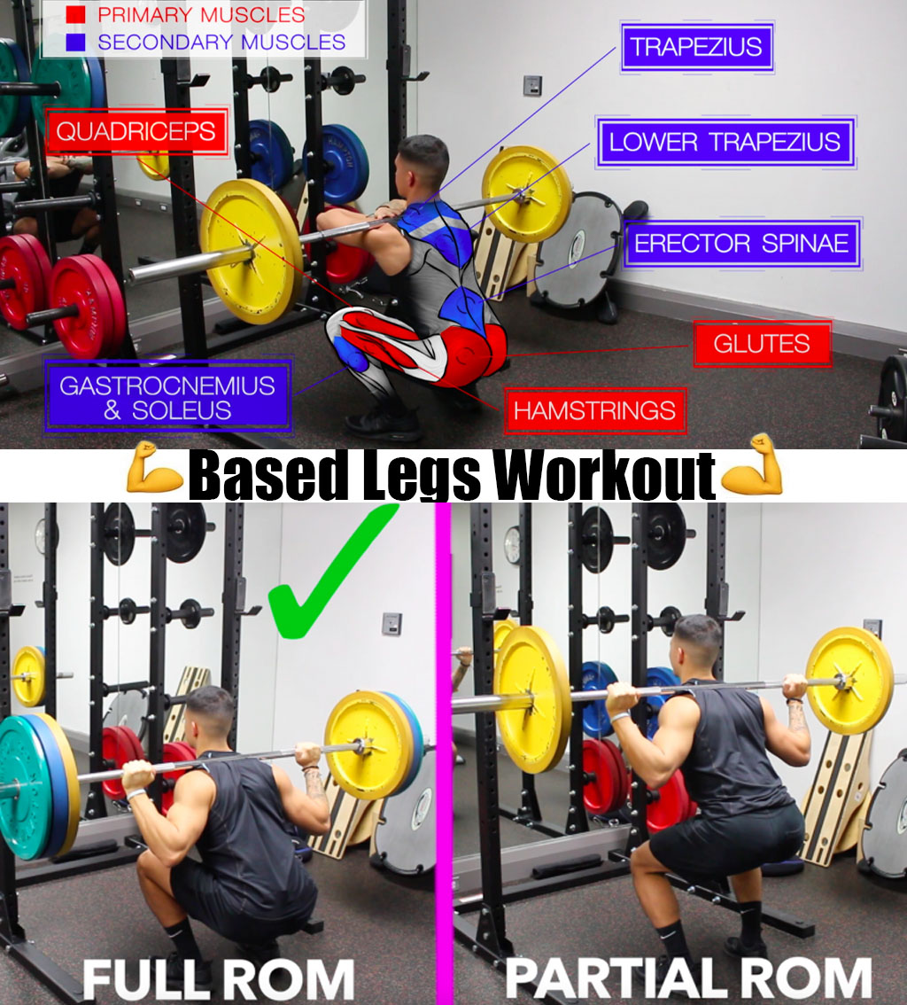 🔥Based Legs Workout