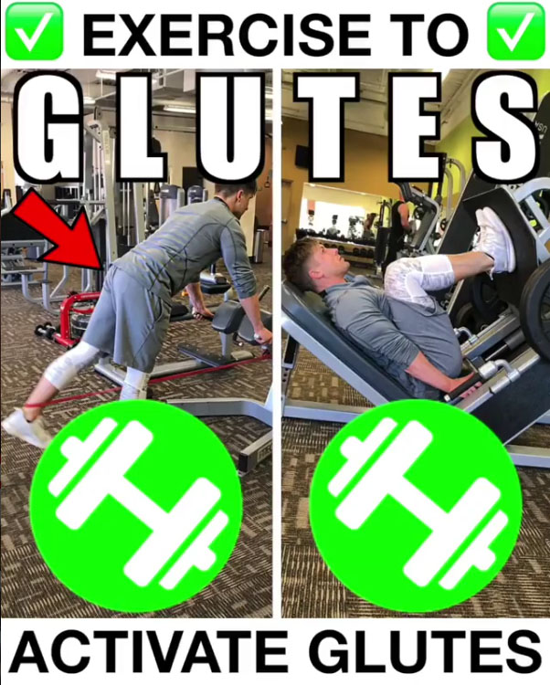 💥3 PACK ACTIVE GLUTES