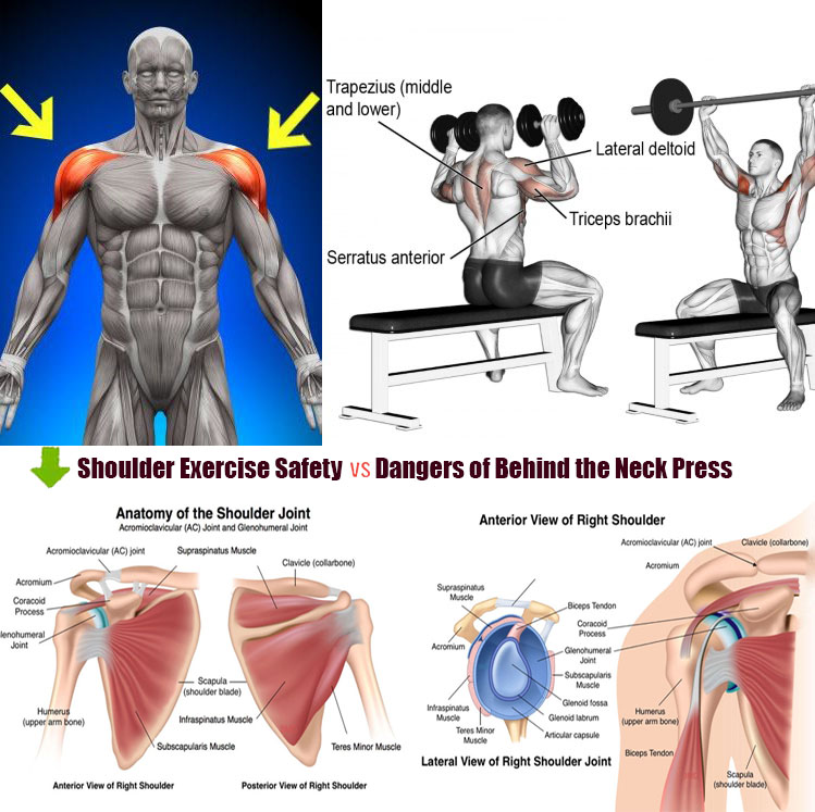 🎯Dangers of Behind the Neck Press