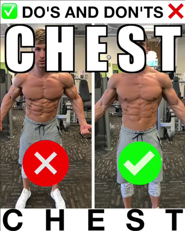❌✅Cable Upper Chest Flyes