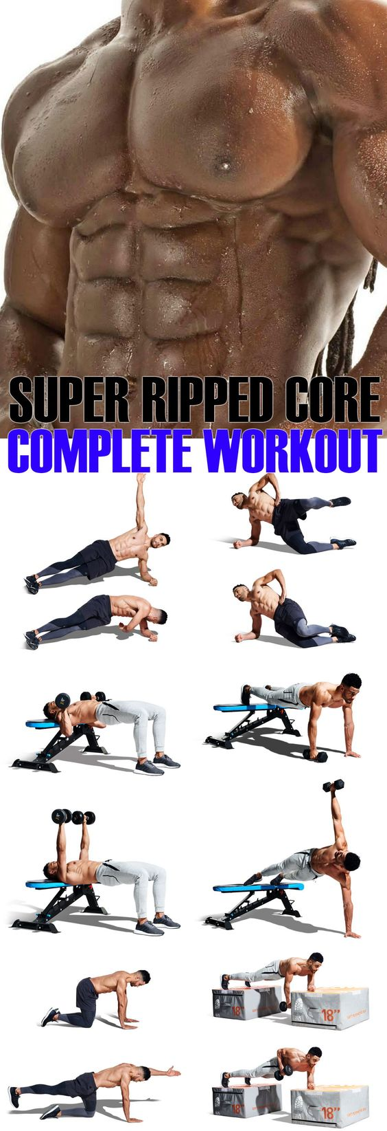 Super Ripped Core Complete Workout