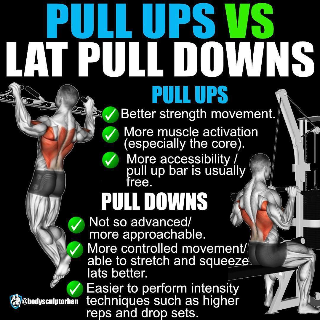 Vertical Pull (Pullups/Lat Pulldowns)