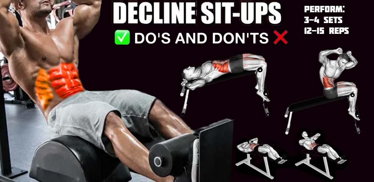 How to Decline Situps
