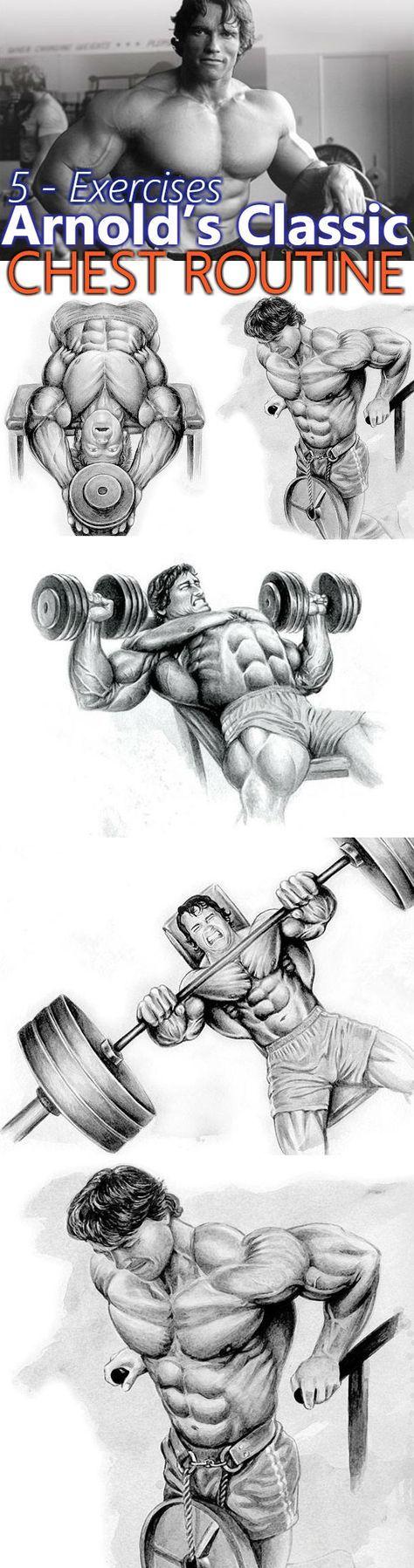 5 Exercises Chest Routine
