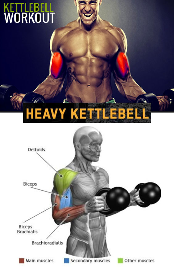 KETTLEBELL CURL