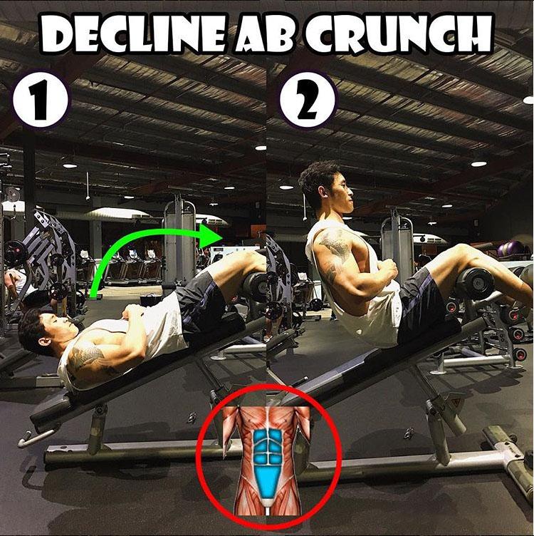 Decline Ab Crunch
