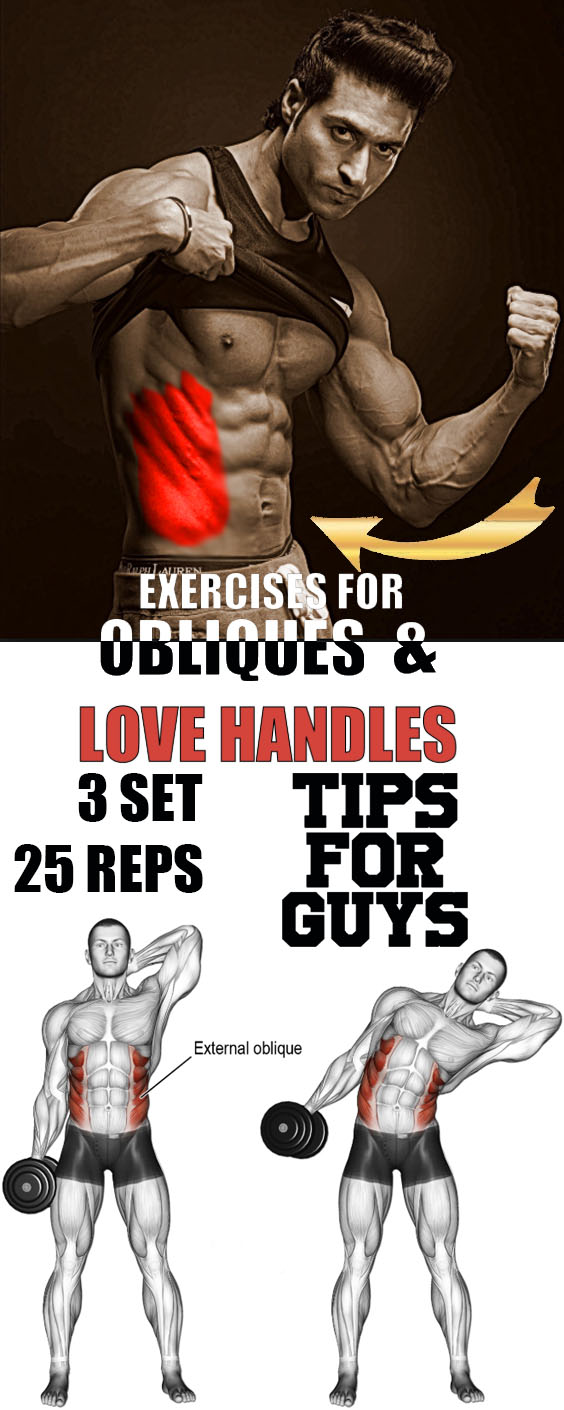 Dumbbell Side Bend Power Workout for Obliques