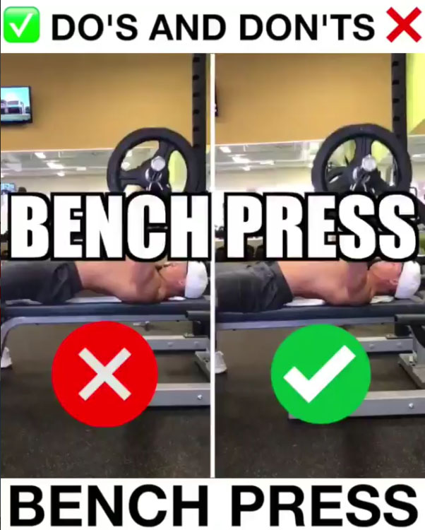 Barbell Bench Proper Form