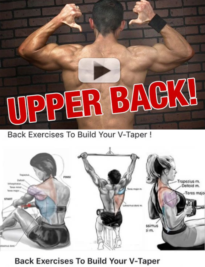 Back Exercises To Build Your V-Taper