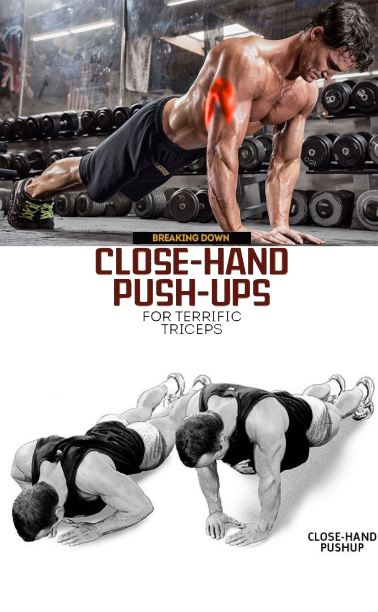 Close-Hand Push up