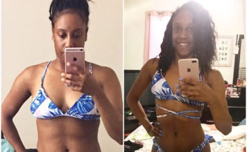 Weight Loss Before and After Story - Brianna