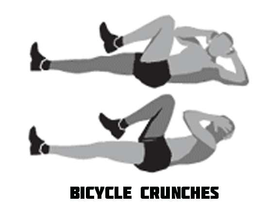 Ho to Do Bicycle Crunches