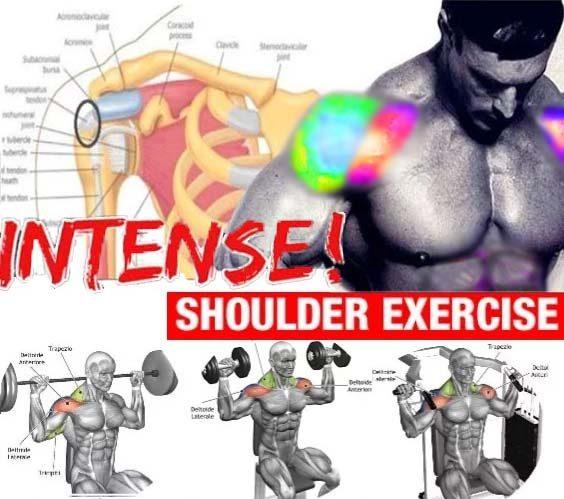Intense Shoulder Workout