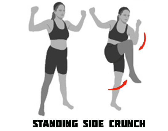 How to Do Standing Side Crunch