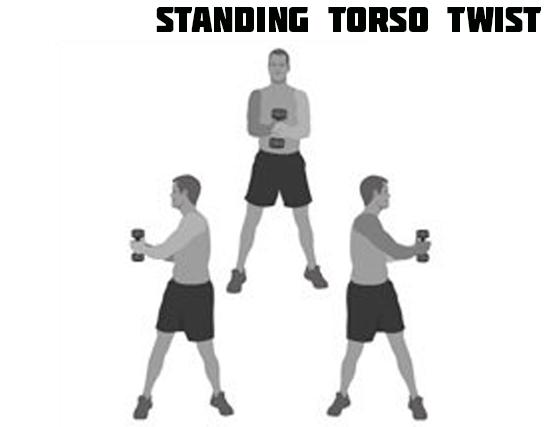 How to Standing Torso Twist