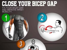 Gap Between Bicep and Elbow