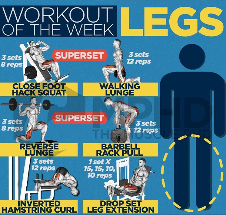 WORKOUT SUPERSET FOR LEGS