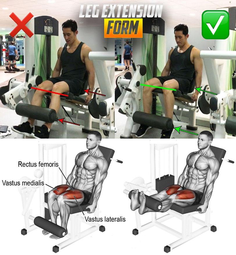 LEG EXTENSION FORM