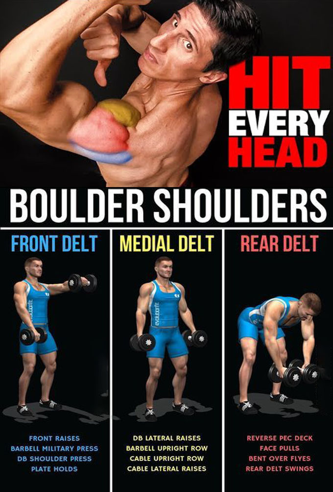 Hit every head boulder shoulders