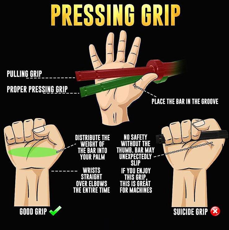 PRESSING GRIP