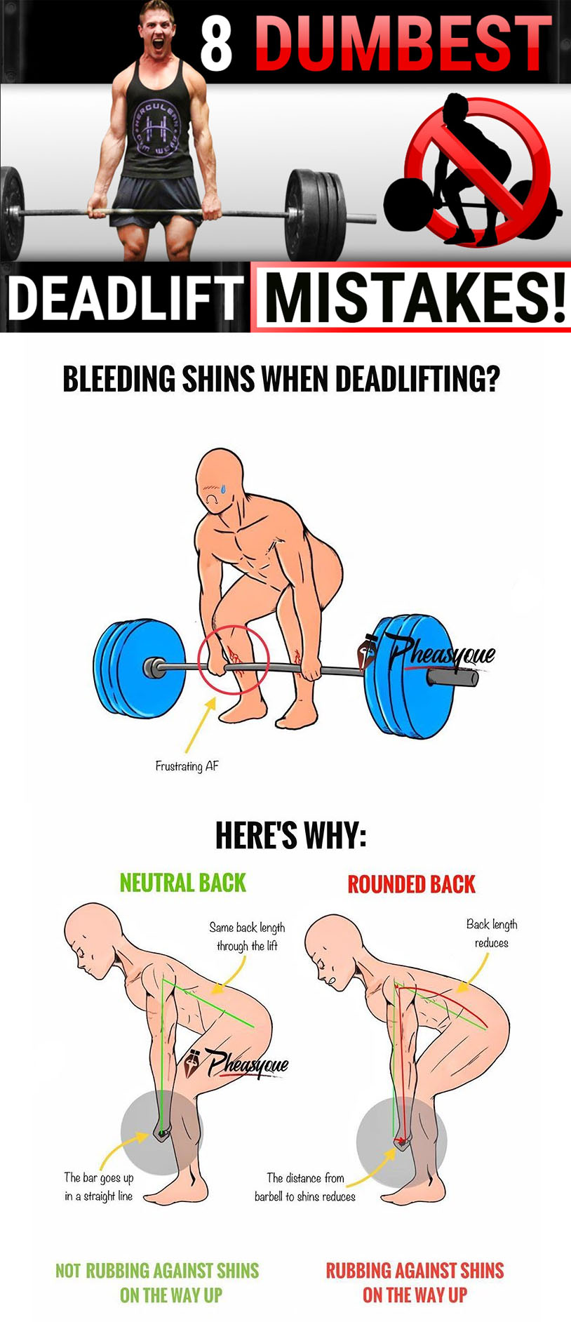HOW TO DEADLIFTS