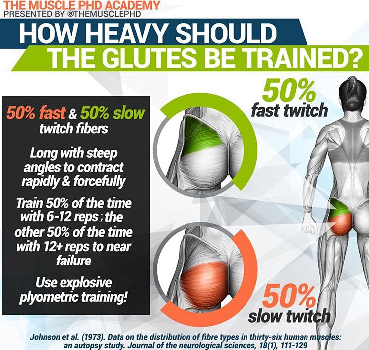 GLUTES BE TRAINED