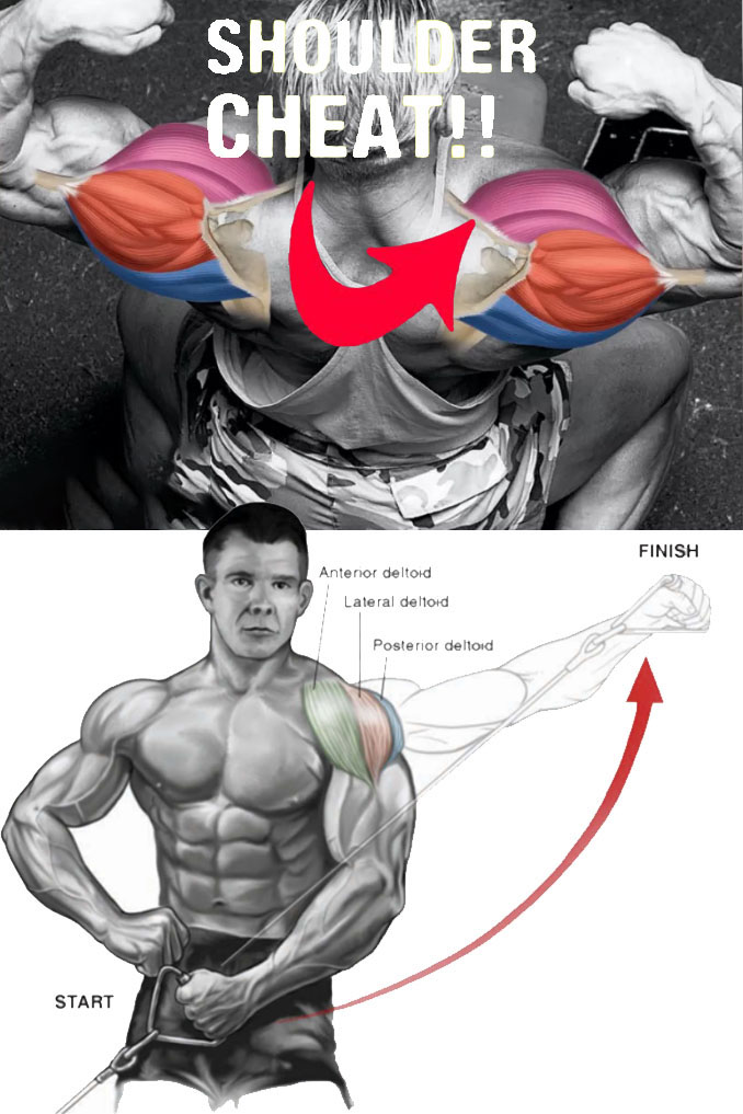 One-Аrm Cable Lateral Raise