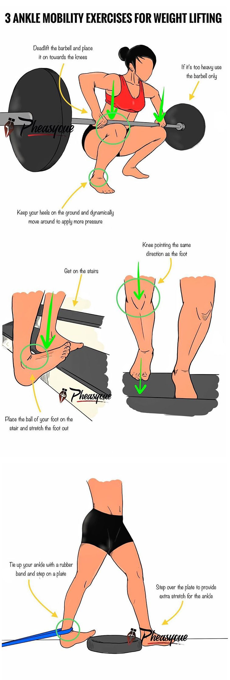 3 ANKLE MOBILITY EXERCISES TO IMPROVE YOUR SQUATS