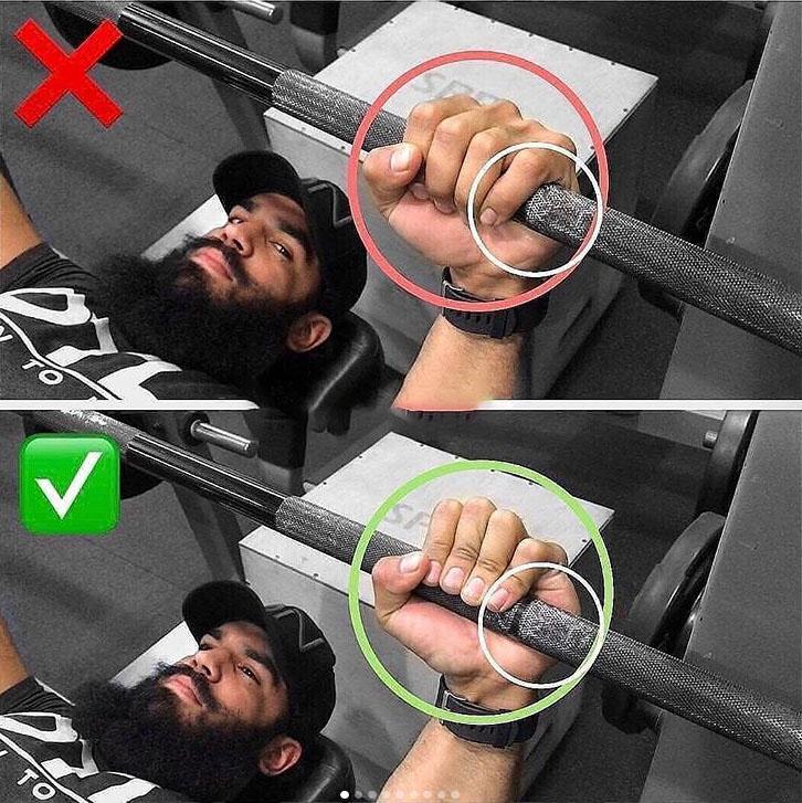 Correct Bench Press