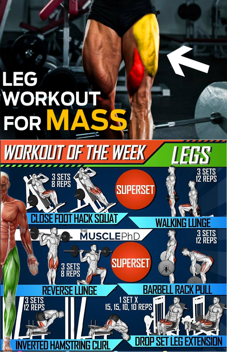 Leg Workout For Mass