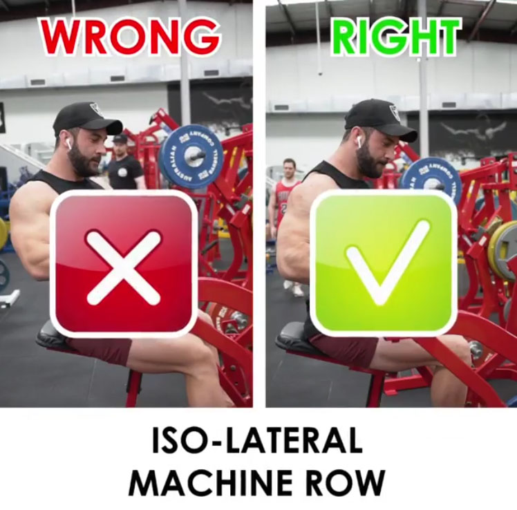 MACHINE ROW ❌WRONG VS RIGHT❎
