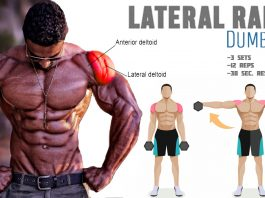 How to Do Dumbbell Side Raises Routine