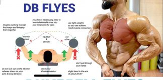 how to Do chest dumbbell flyes
