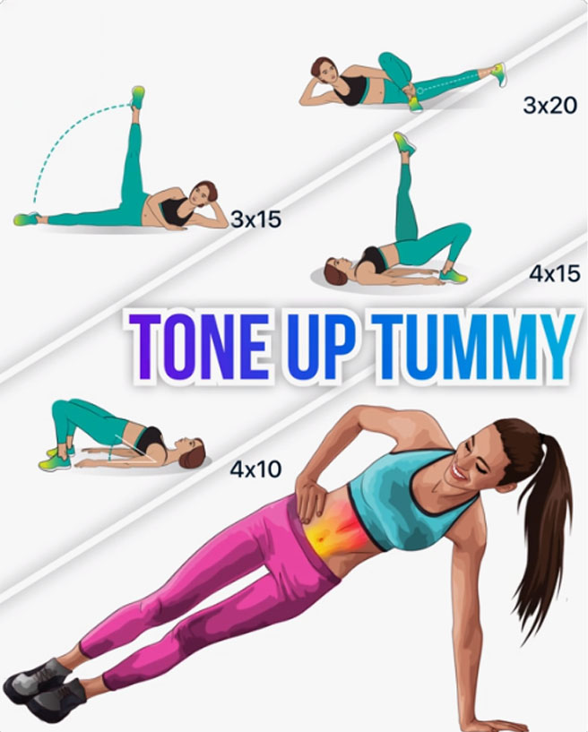 Tone Up Tummy