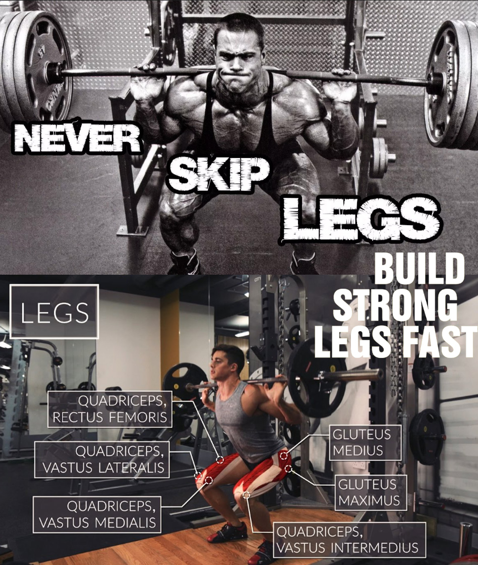BUILD STRONG LEGS FAST