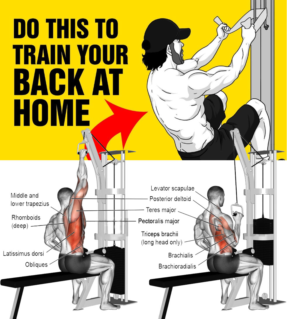 One(Two)-arm lat pull-down