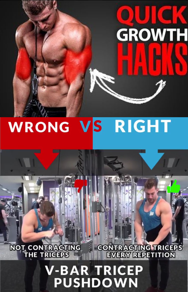 🚨V-BAR PUSHDOWN 👎WRONG VS 👍RIGHT