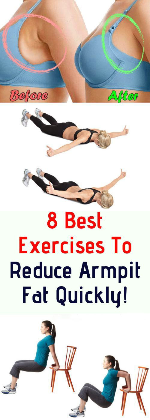 Best Exercises To Reduce Armpit Fat Quickly
