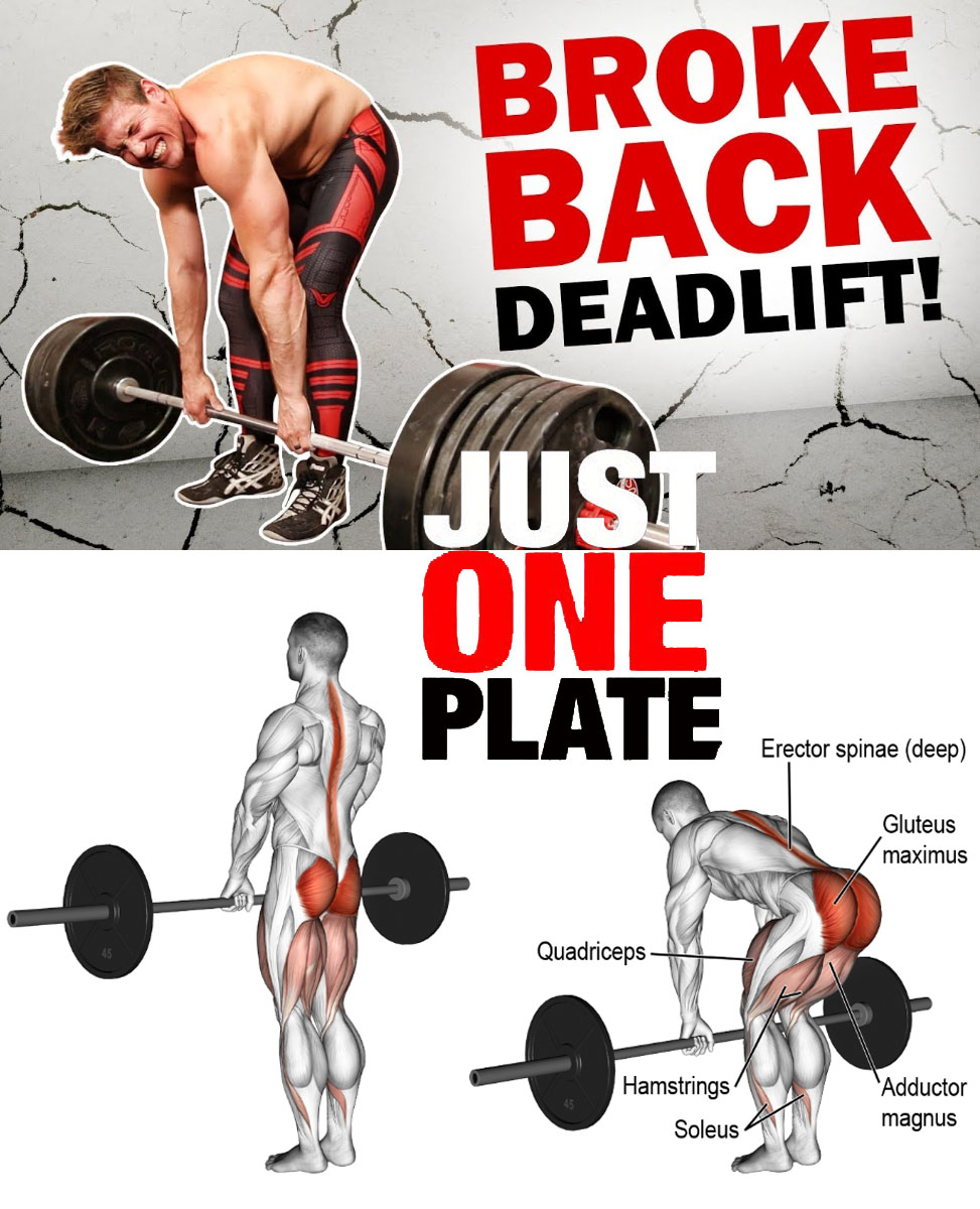 Deadlifts don't broke back