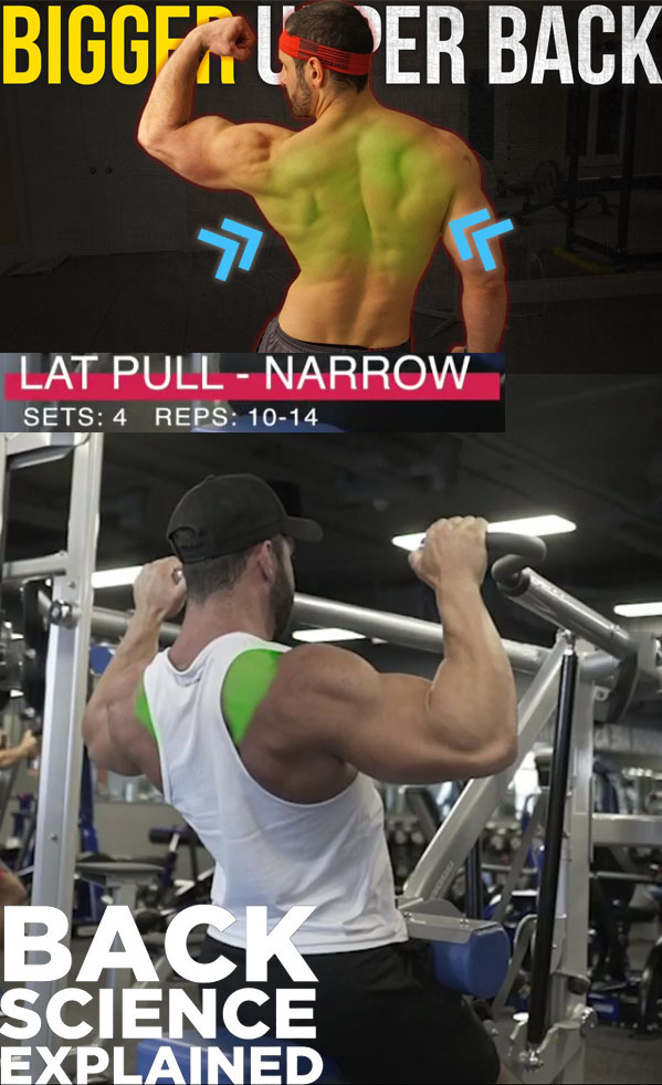 LAT PULL - NARROW