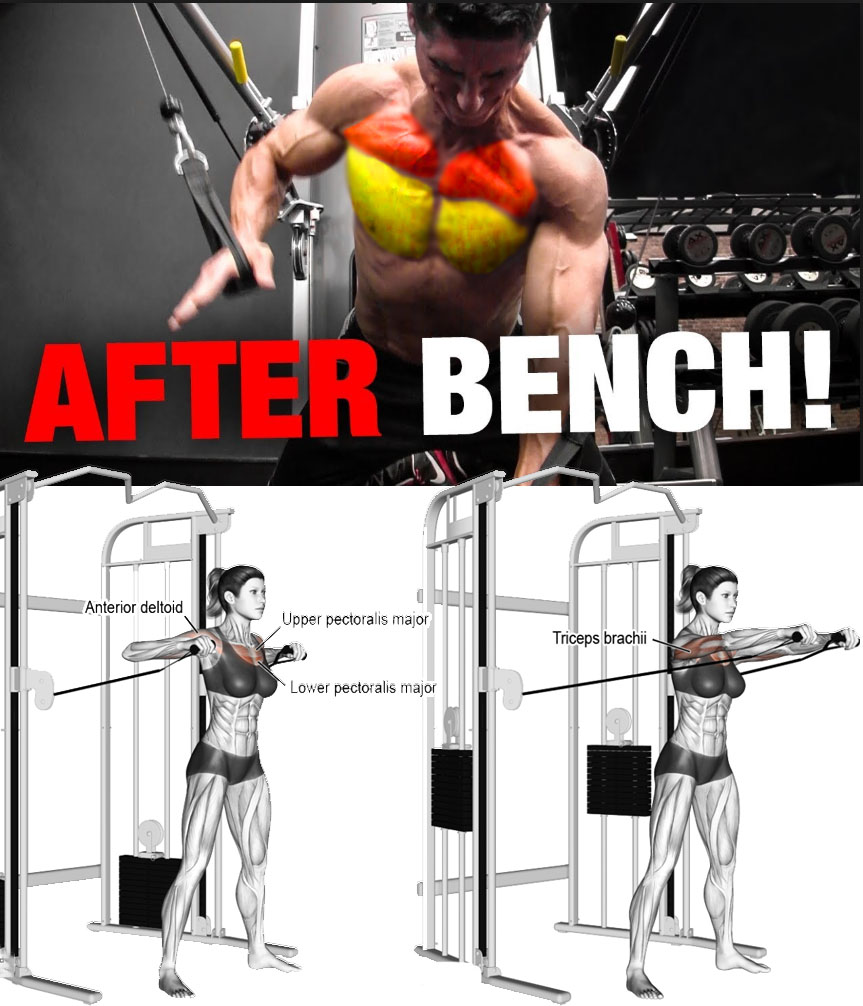 AFTER BENCH PRESS