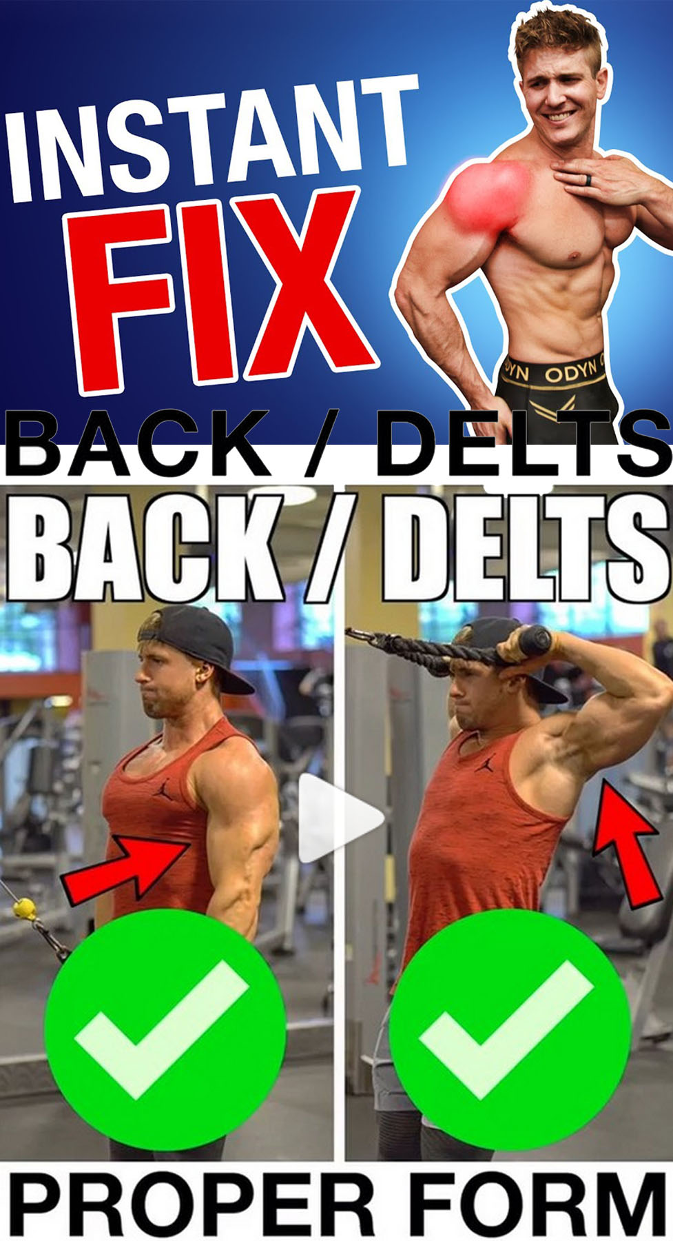Back Delts Routine
