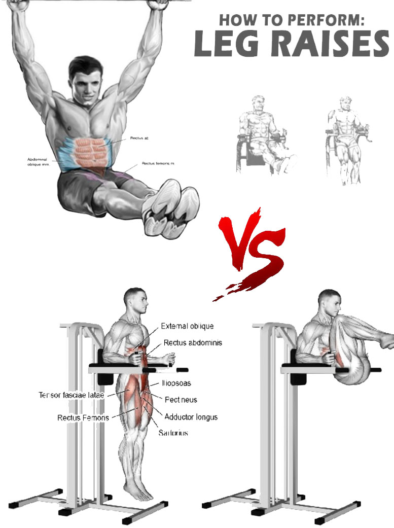 Hanging Leg Hip Raise