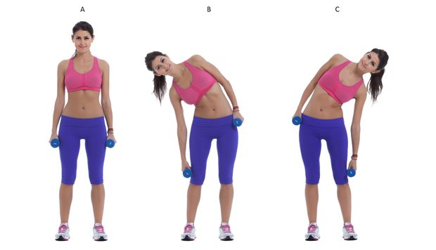 Side Bends for Obliques
