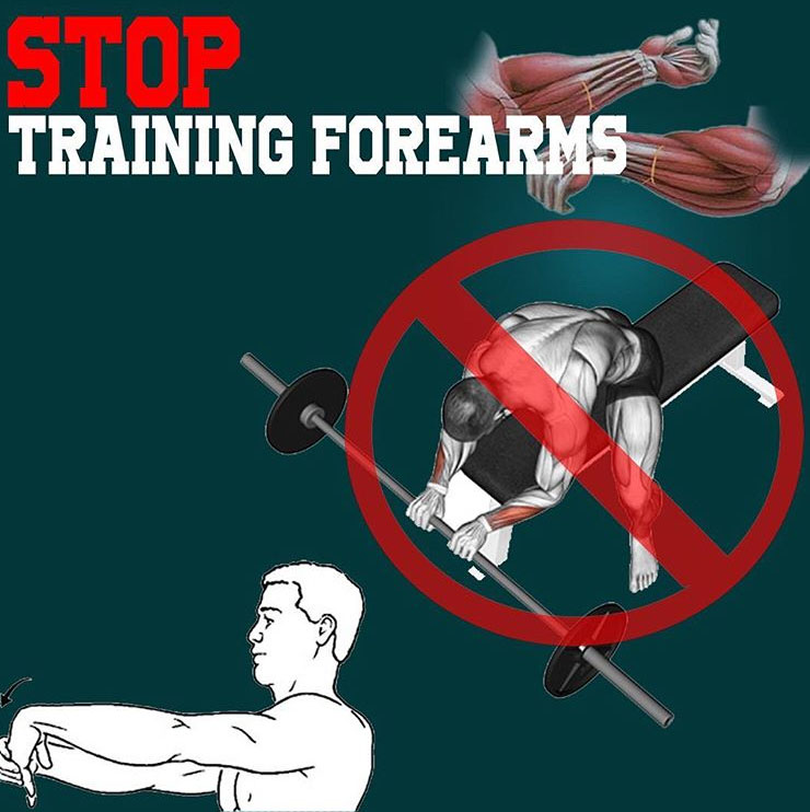 Stop Training Forearms