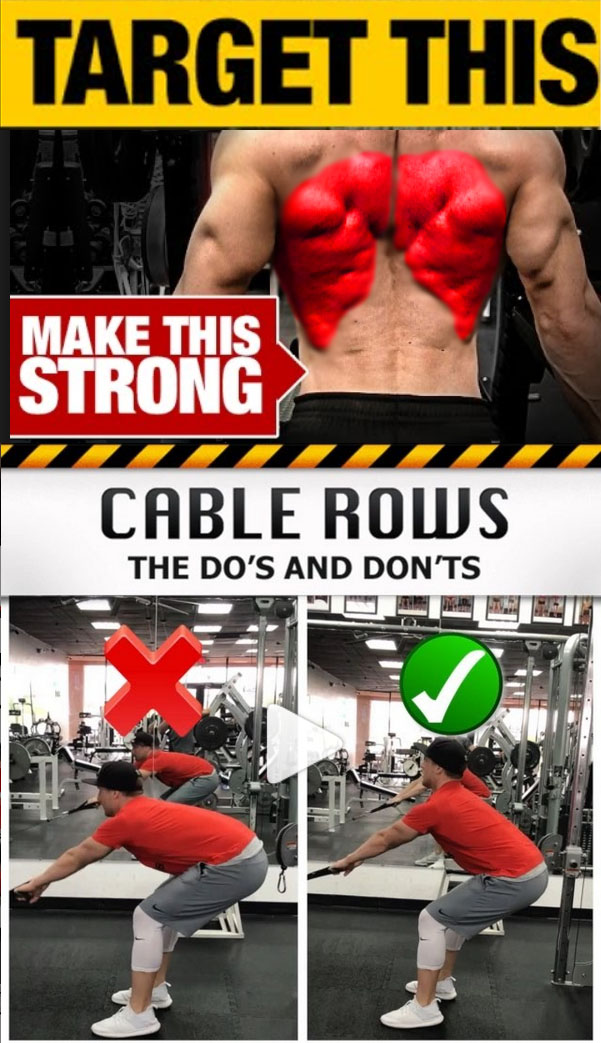 Cable Rows
