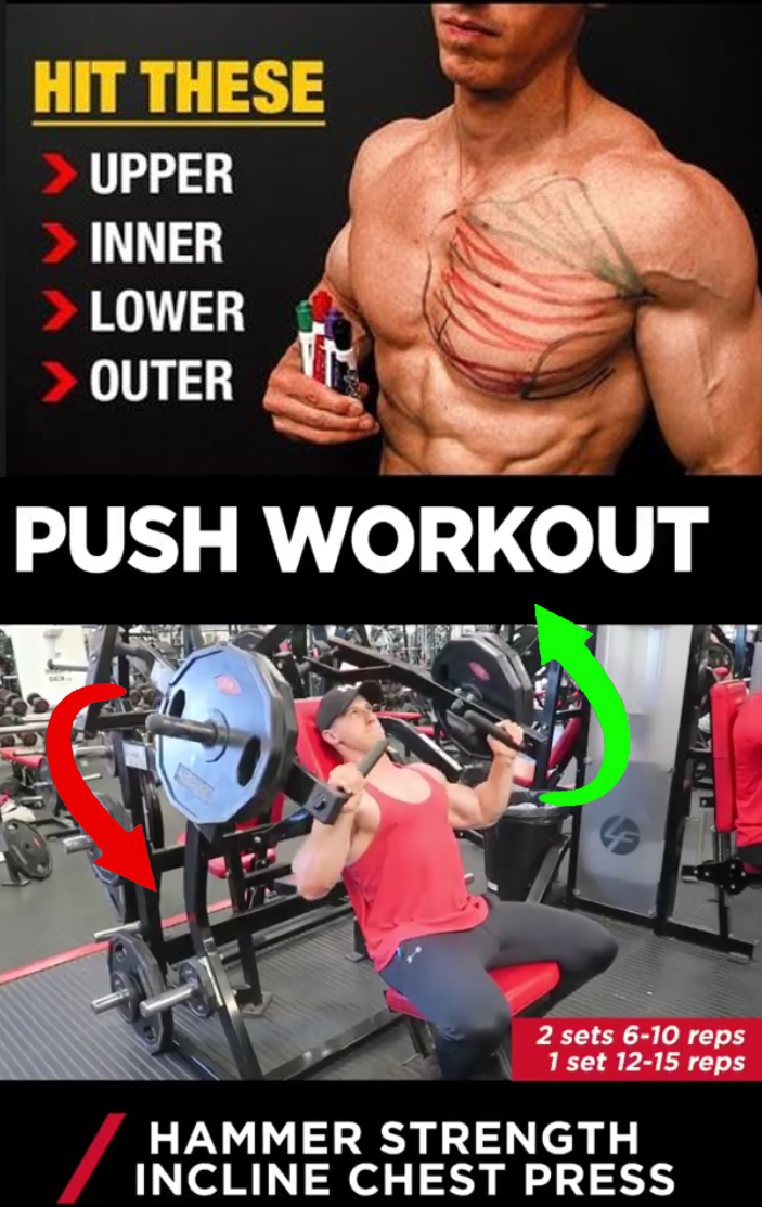 HAMMER STRENGTH INCLINE CHEST PRESS